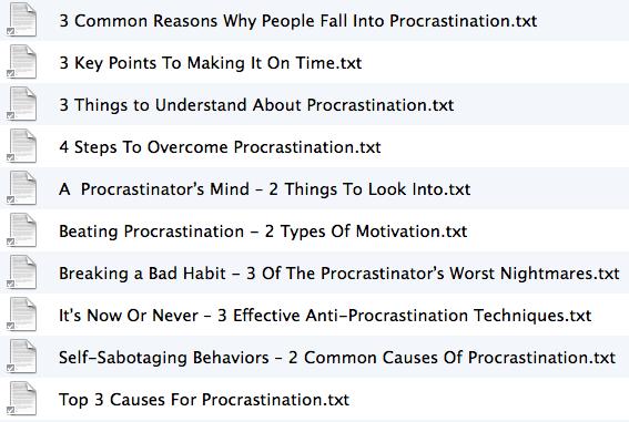 10 Articles